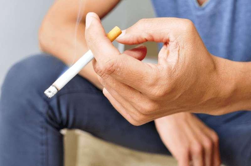 Tютюнопушенето уврежда зрението