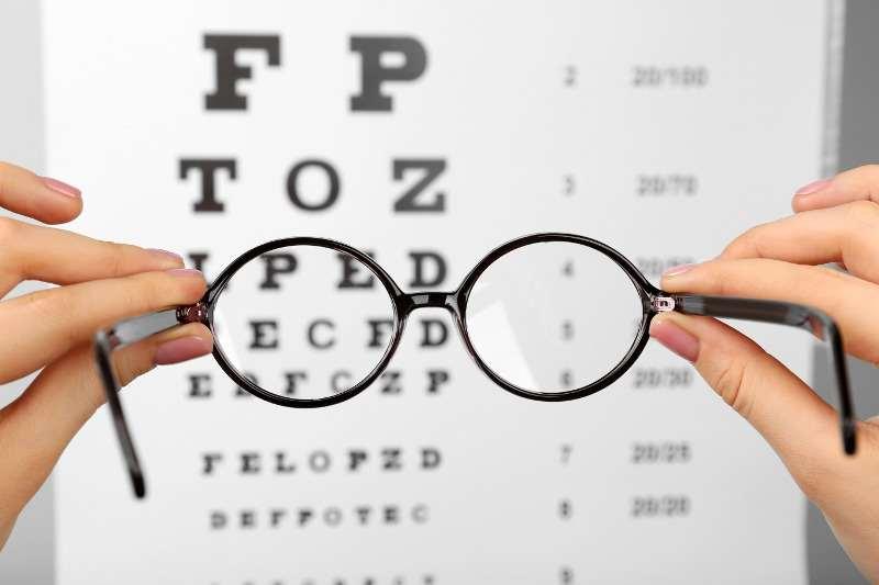замъглено зрение