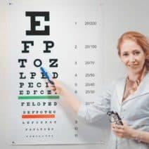 тест за зрение