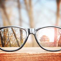 размазано зрение