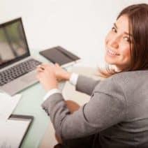 работа с компютър, очи