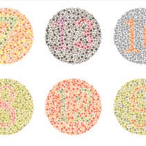 нарушено цветно зрение