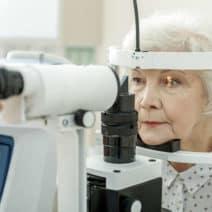 нарушено периферно зрение