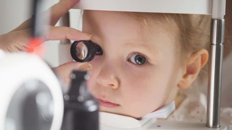 проблем с очите при деца