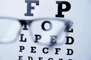 размазване на зрението