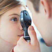 симптоми на проблеми със зрението