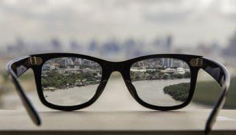 намалена острота на зрението
